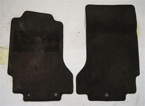 cadillac xlr front floor mat pair  black