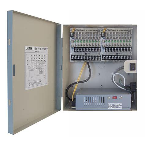 Box Power Supply Power Supply Box 10a 18 port power distribution box 12 vdc 10a