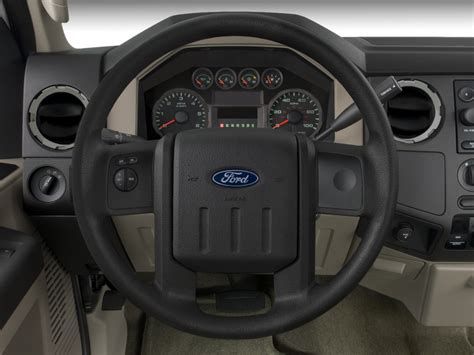 image  ford super duty   wd supercab  xlt steering wheel size    type