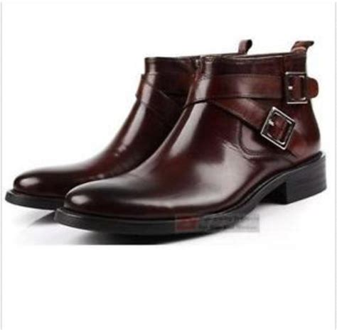 real leather s ankle boots formal shoes dress shoes