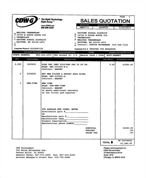 Sales Quotation Templates 7 Free Word Pdf Format Downlaod Free Premium Templates Sales Quote Template