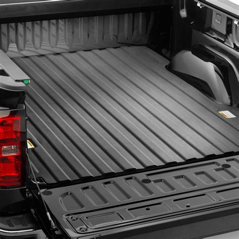 weathertech truck bed liner weathertech 174 chevy silverado 2014 2015 techliner 174 bed