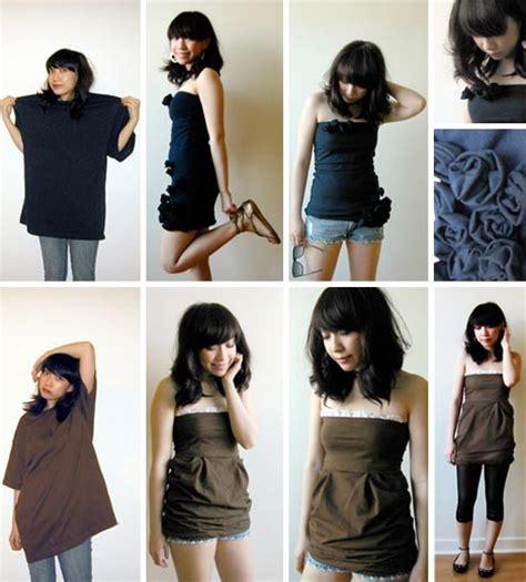 fashion upcycling diy dress up ideas 5 ways to upcycle clothing
