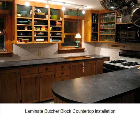 Laminate Butcher Block Countertops - laminate butcher block countertop installation