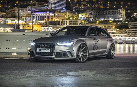 Audi Tuning by Audi Tuning Prior Design Pumps Up Audi A6 Avant And Rs6