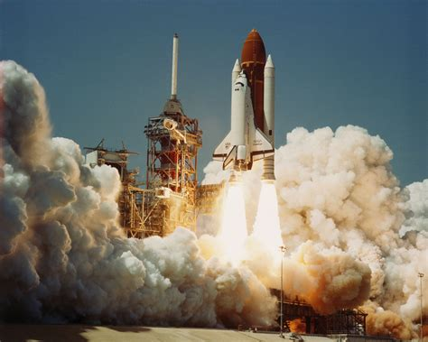 the explosion of the space shuttle challenger nasa nasa s tdrs era began during challenger s maiden voyage