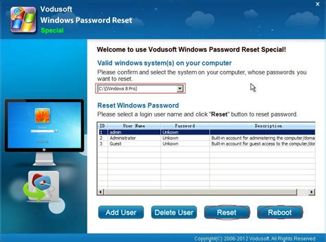 windows password reset special how to use ophcrack for windows 8