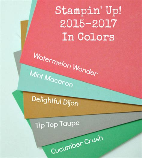 colors in 2017 stin up definitely dahlia in colors card set