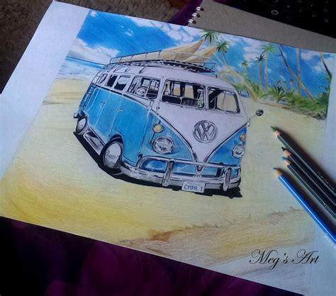 volkswagen van drawing 60 s volkswagen cer van drawing by stardust12345 on