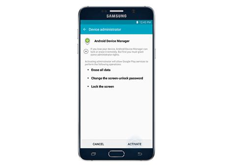 android device protection samsung galaxy note 5 advanced security guide using smart lock factory reset protection frp