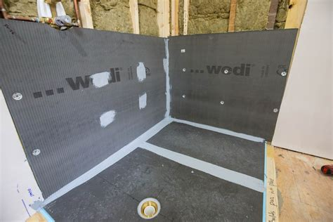 Wedi Shower Curb by Wedi Waterproof Shower System Page 3 Of 4 A Concord