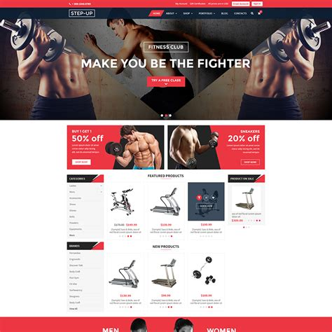 Step Up Bigcommerce Themes In Stencil Legacy Themes Themes Psdcenter Com Lightspeed Ecommerce Templates