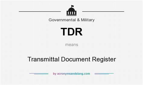Document Register Army