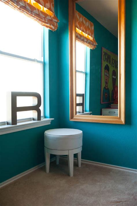 my colorful home office interior design by room