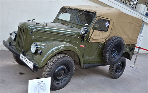 uaz jeep gaz 69 wikipedia