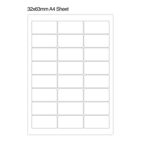 photo left text address label a4 sheets able labels