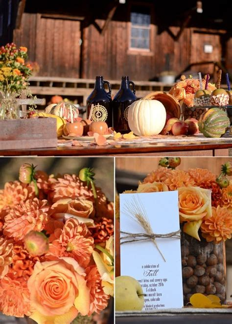 fall wedding decorations ideas special wednesday fall wedding flower ideas bridal