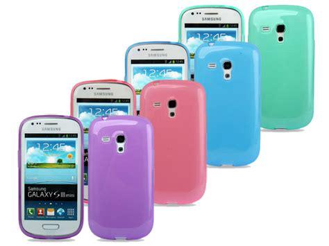Softcase Mini 3 pastels tpu hoesje voor samsung galaxy s3 mini i8190