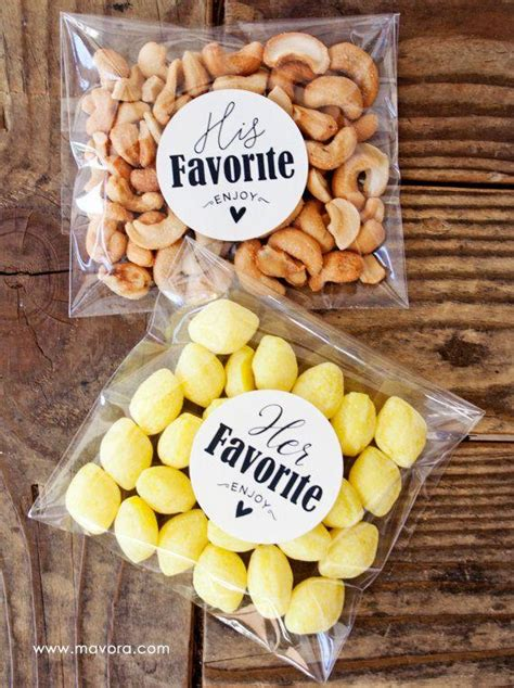 Wedding Favors Stickers by His Hers Wedding Favor Stickers Wedding Favors Shower