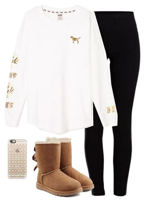 classic polyvore outfits  winter  warm