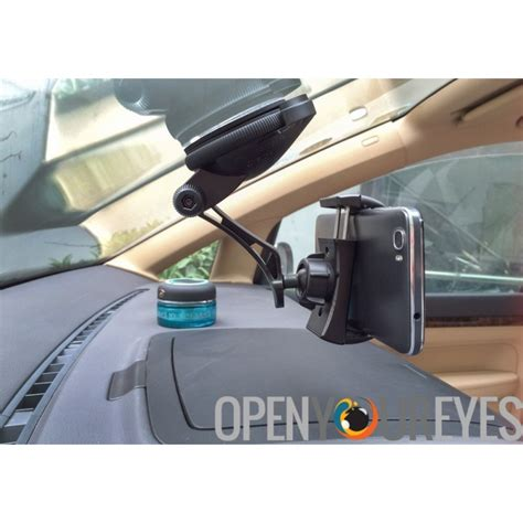 360 Degrees Auto Lock Car universal car phone holder quot jpmax pro quot 360 degree rotation suction cup twist lock cell