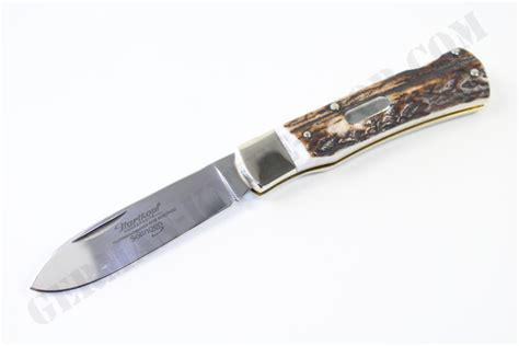 stag pocket knives hartkopf stag folding pocket knife german knife shop