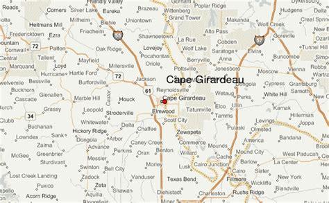 missouri map cape girardeau gu 237 a urbano de cape girardeau