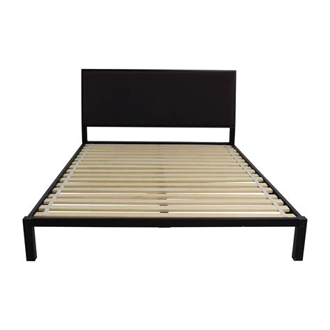 crate and barrel bench seat bed frames wallpaper hi res crate and barrel colette bed