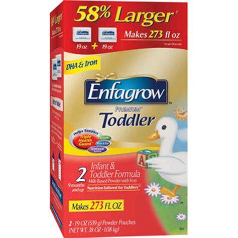 Formula Enfagrow Enfagrow Premium Toddler Formula 38 Oz Box 42 59 5vita