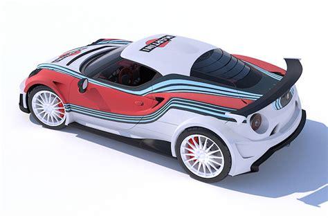 Who Makes Alfa Romeo by V8 Martini Liveried Alfa Romeo 4c Makes Other Cars Irrelevant