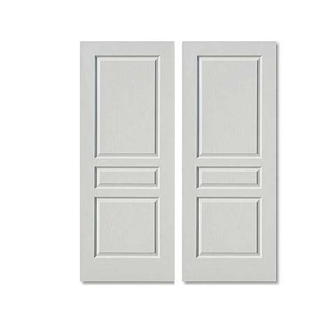 White Paneled Interior Doors by 3 Panel Interior Doors Feel The Home