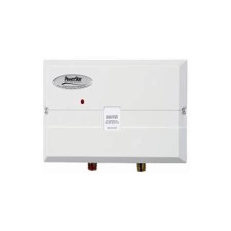powerstar 7 2 kw 240 volt point of use tankless electric