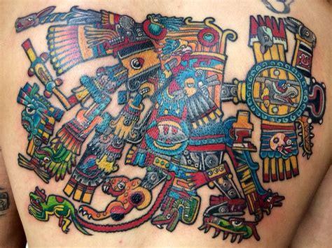calendario azteca tattoo design tezcatlipoca con la veintena calendario azteca