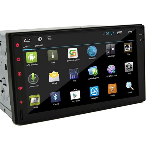 android 4 2 car audio gps navigation 2din car stereo radio no dvd player bluetooth jpg - Android 4 4 Car Stereo