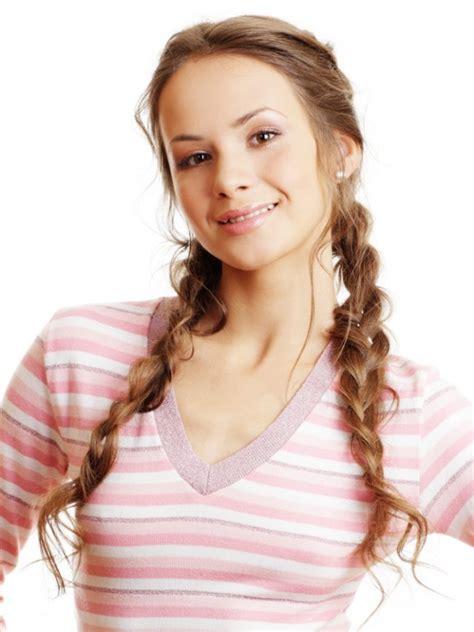 beautiful pretty  cute hairstyles  school