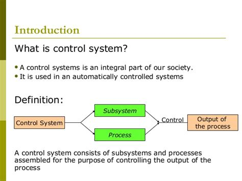 controlling definition control chap1