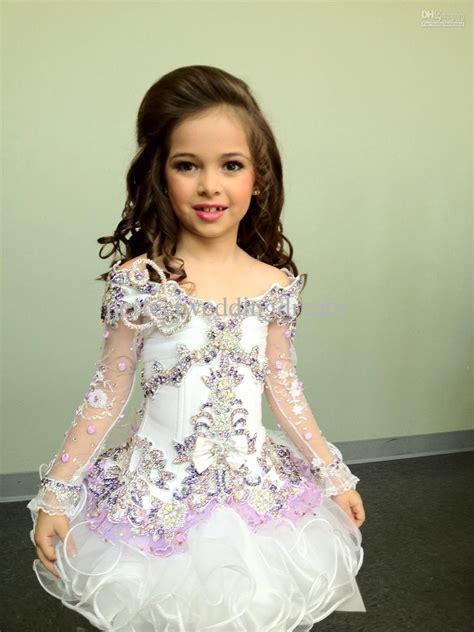 little girl beauty pageant dresses beautiful high glitz flower girl pageant dresses cupcake