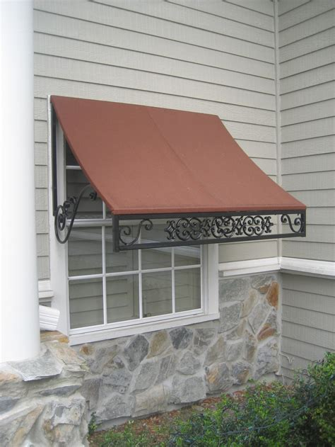 decorative metal window awnings mastercraft canvas awnings and shutters