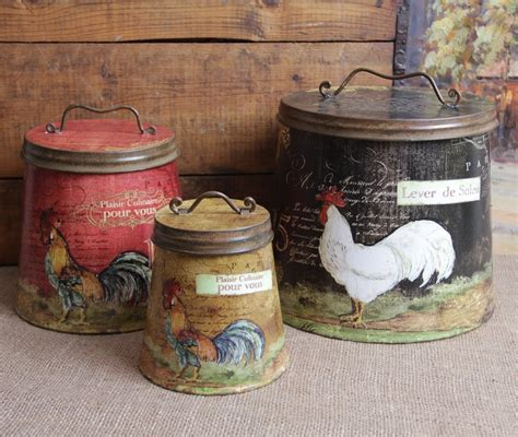 rooster canisters kitchen products rooster canister sets for sale