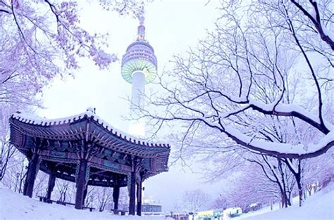 seoul tower winter sentosa wisata