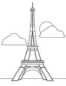 eiffel tower coloring page free coloring pages of