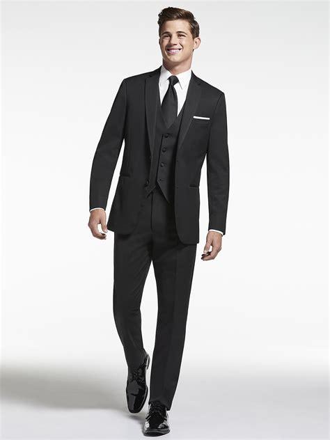 Tuxedo Black black tuxedo black by vera wang tuxedo tuxedo rental