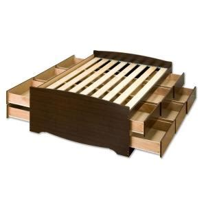 12 Drawer Platform Bed by Prepac Fremont And 12 Drawer Platform