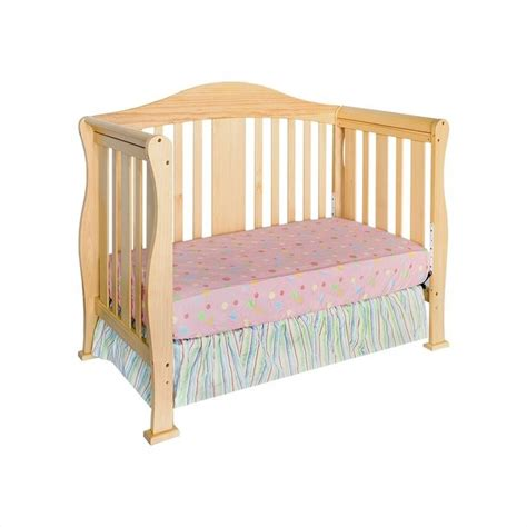Davinci Parker 4 1 Convertible Wood Baby W Toddler Rail Organic Baby Cribs