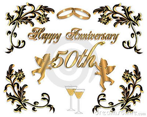 Anniversary Invitation Free Clip Art Orderecigsjuice Info 50th Wedding Anniversary Clipart