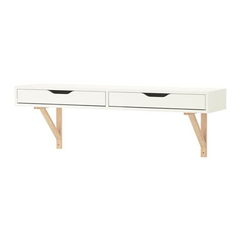 mensola con cassetto ikea ekby alex ekby valter shelf with drawer white birch ikea
