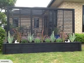 Black Trellis Garden 3 Metre Planter With Trellis In Black Trade Me