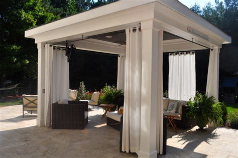 Cost To Build A House In Michigan Pool Cabana Traditional Patio Other Metro By