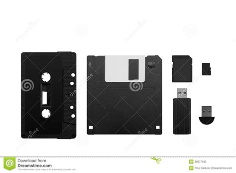 the evolution of memory devices stock photo image 39977180