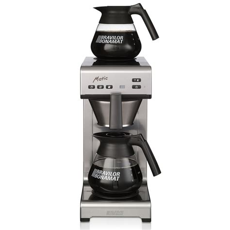 Plumbed In Coffee Machine by Bravilor Bonamat Matic Plumbed Filter Coffee Machine Simply Great Coffee